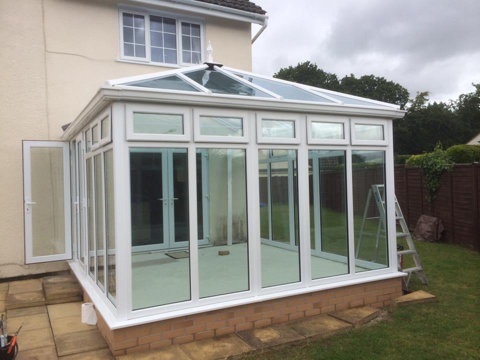 upvc double glazed porch conservatory