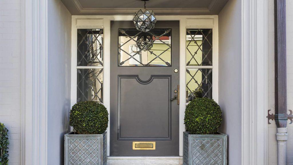 composite door on a period home